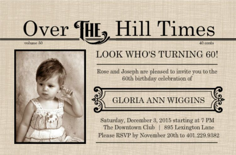 Happy 60th Birthday! Youu0027ve made it through six decades of life and - sample invitation wording for 60th birthday
