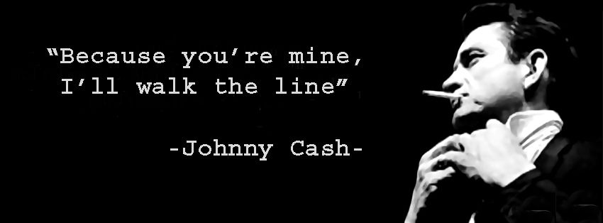 Johnny Cash Cover Because You Re Mine I Ll Walk The Line Youre Mine Facebook Timeline Covers Johnny Cash