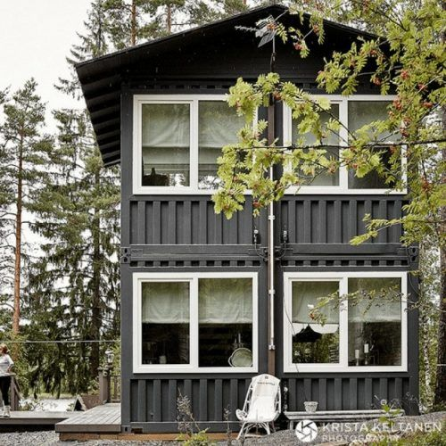 HARTOLA LAKE CONTAINER HOME Tiny Home Pinterest Lakes House