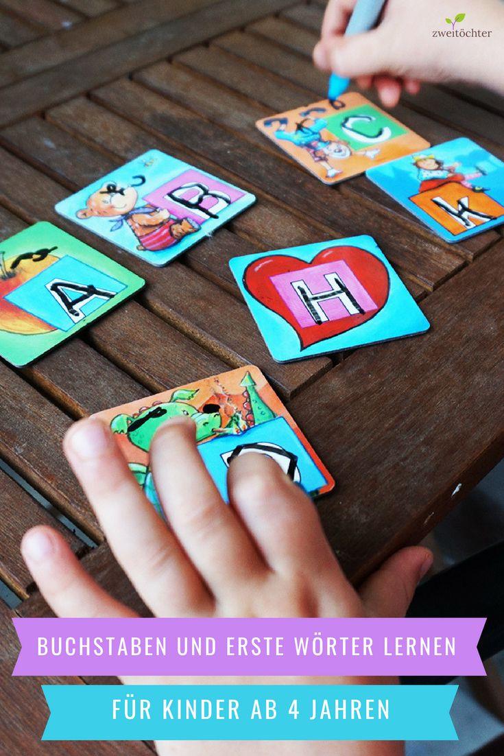 buchstaben und erste wörter lernen für kinder ab 4