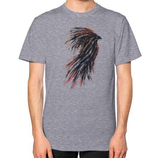 Ink Phoenix Unisex T-Shirt (on man)