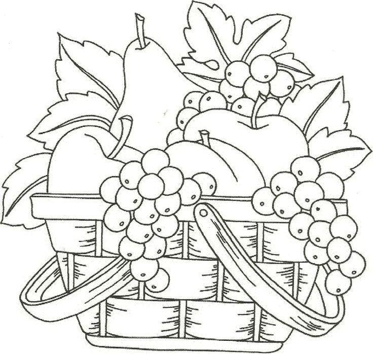 Stencil-mania Drawings, Embroidery and Adult coloring - copy coloring pages of vegetables