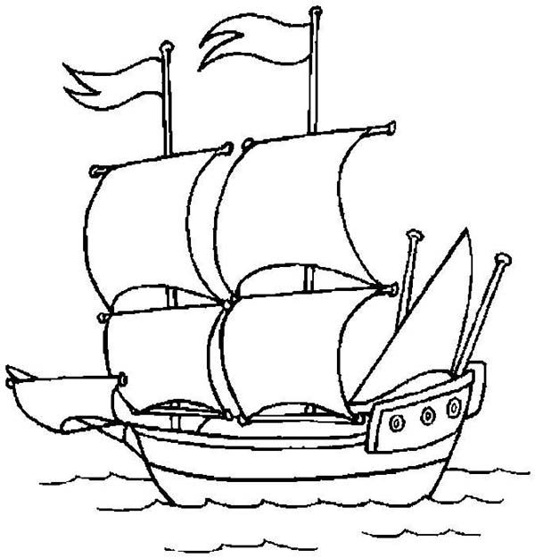 Worksheet. Pirate Ship  A Pirate Ship Open Sail to the Ocean Coloring Page