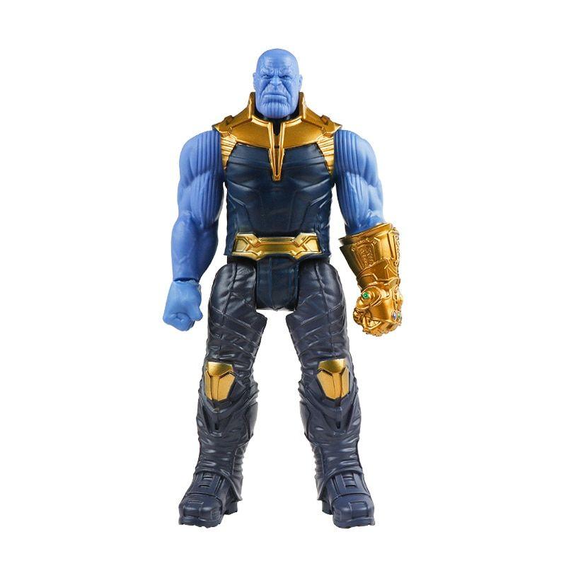 Figurine 30 cm Marvel Avengers Endgame Héros Thanos Spiderman Hulk Iron Man