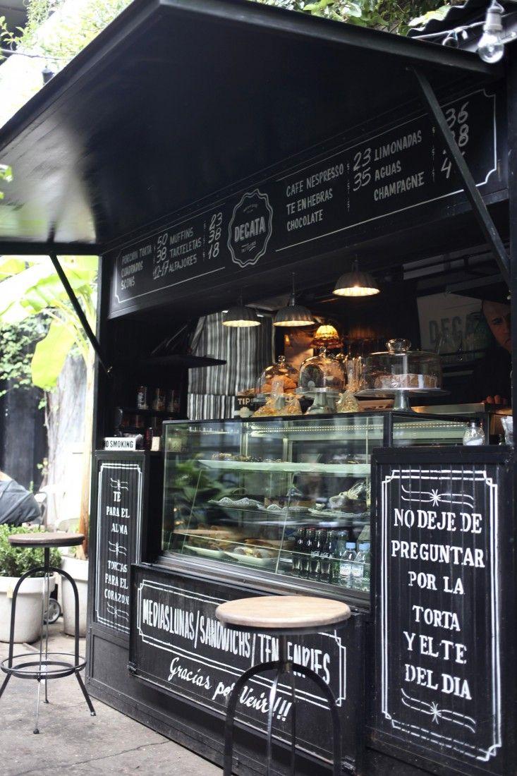 A Secret Courtyard Garden In Buenos Aires Food Kiosk Food Truck