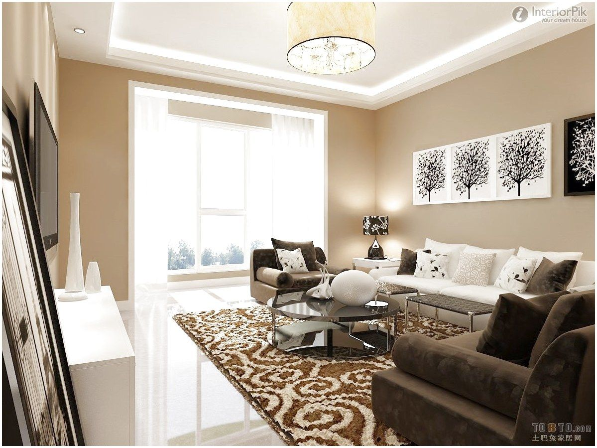 White Furniture White Brown Sofa Furniture Living Room Decorating Luxury Design Ideas Wi Brown Living Room Decor White Furniture Living Room Living Room White