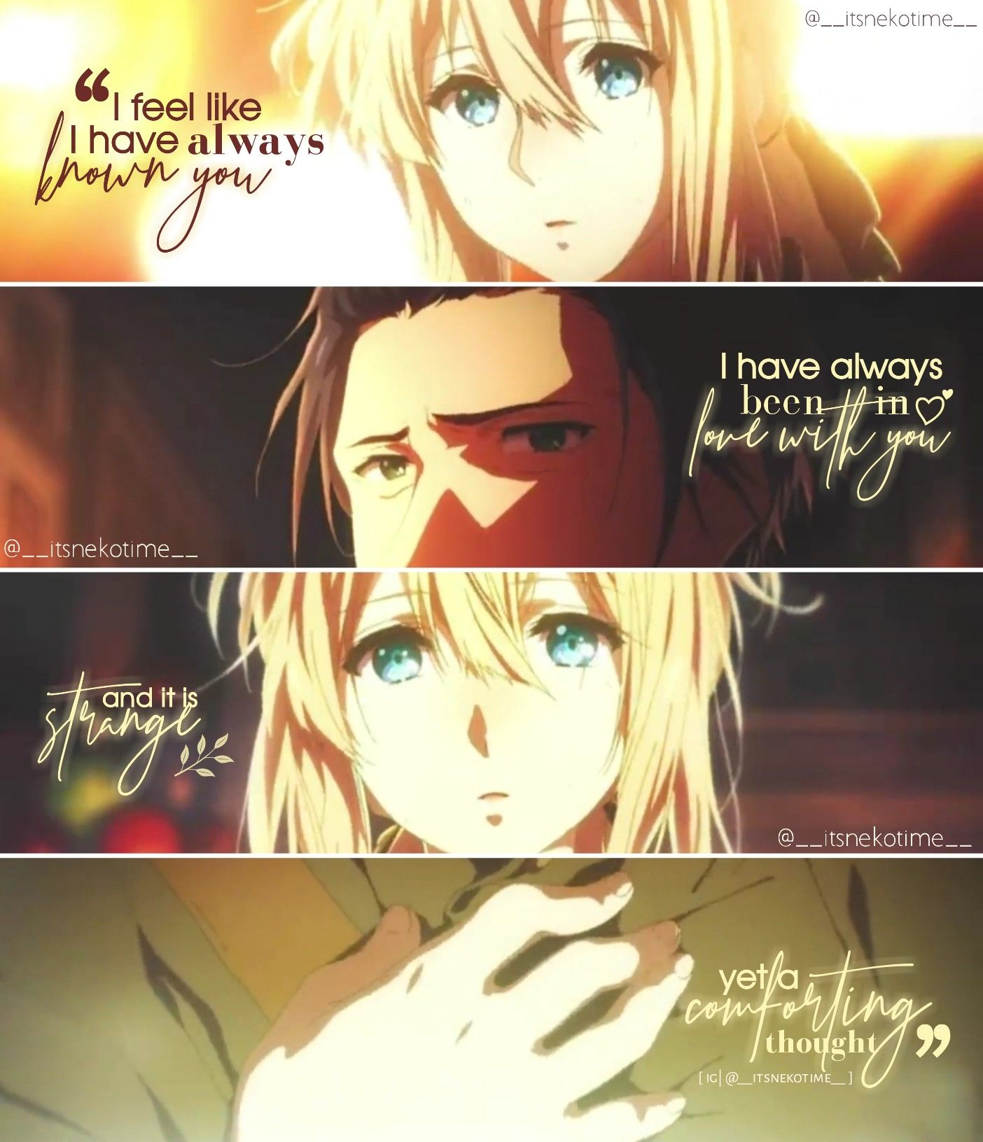 Anime edits in 2020 | Be yourself quotes, Anime, Feelings