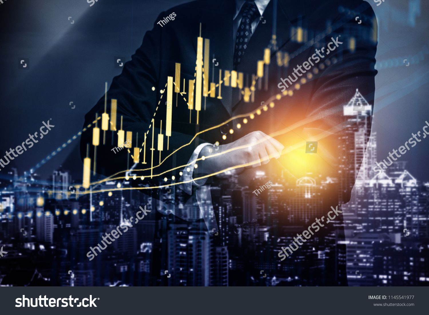 Stock Market Data On Digital Led Display A Daily Market Price And Quotation Of Prices Chart And Candle Stick Tracki Stock Market Data Price Chart Stock Market