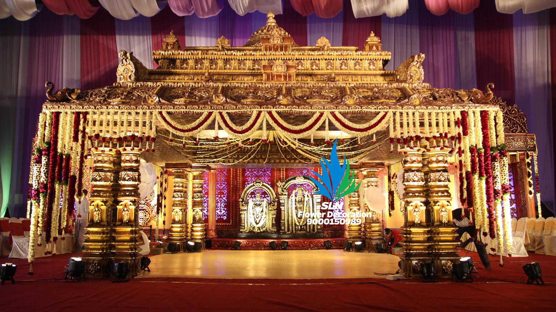 Fiber Mandapam | Wedding design decoration, Marriage ...
