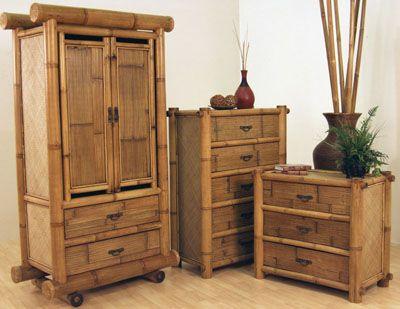 Hawaii Bamboo Bedroom Group From Hospitality Rattan Desain Furnitur Perabot Buatan Sendiri Perabot