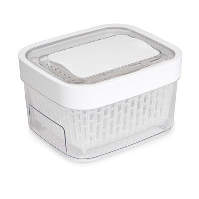 OXO Good Grips GreenSaver Produce Keeper 1.6 Qt Food Storage Container