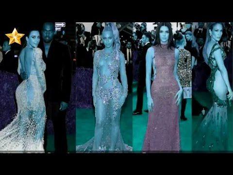 شاهد فضائح الفنانات بفساتين عارية في حفل لجمع التبرعات Formal Dresses Long Formal Dresses Fashion