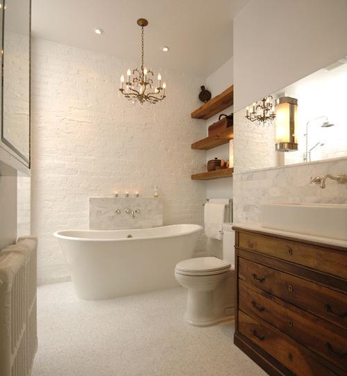11 Creative Ways To Make A Small Bathroom Look Bigger Designed Elegant Bathroom Bathroom Makeover Bathroom Design