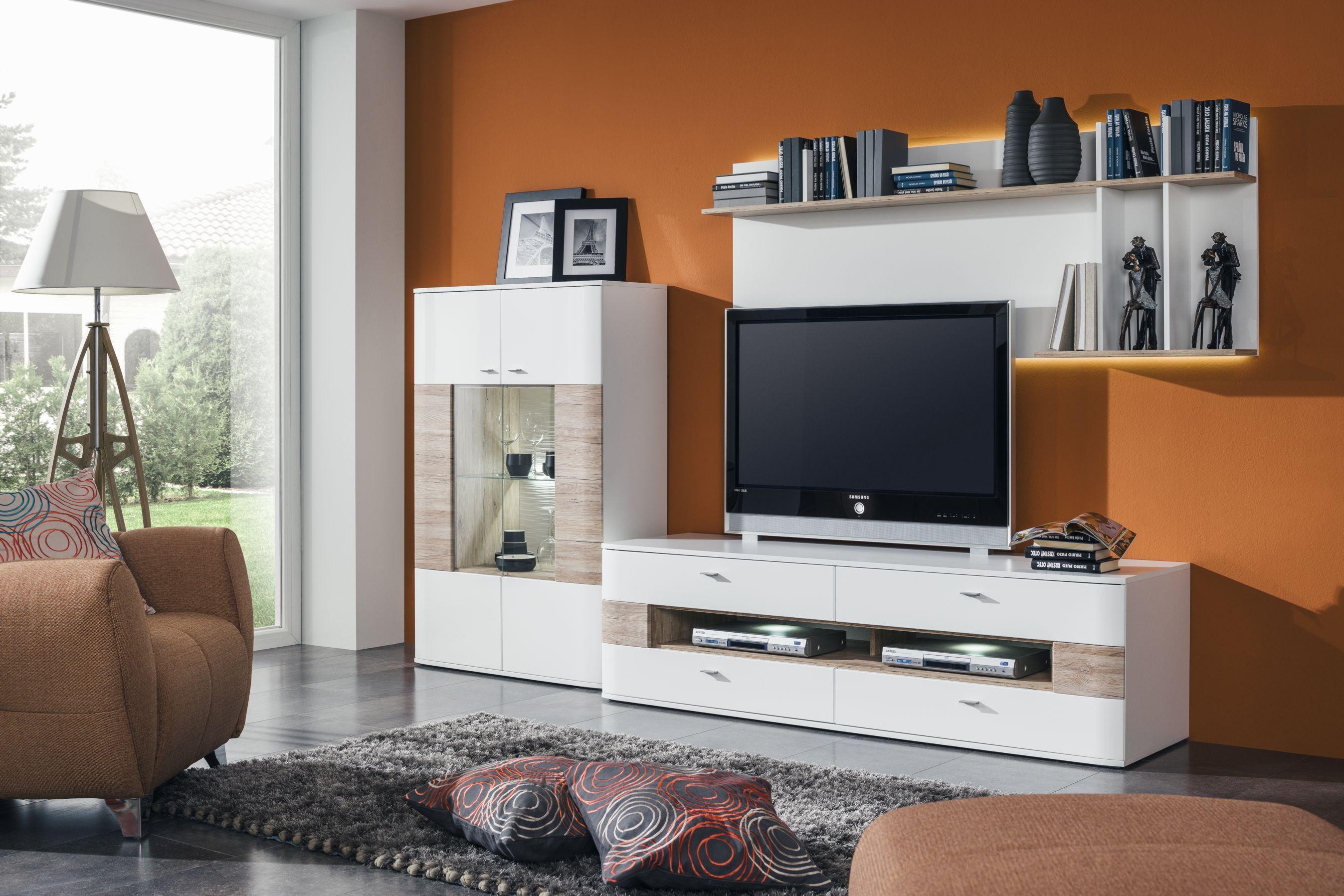 obývačka decodom: dallas prevedenie: biela - biela vl / san remo
