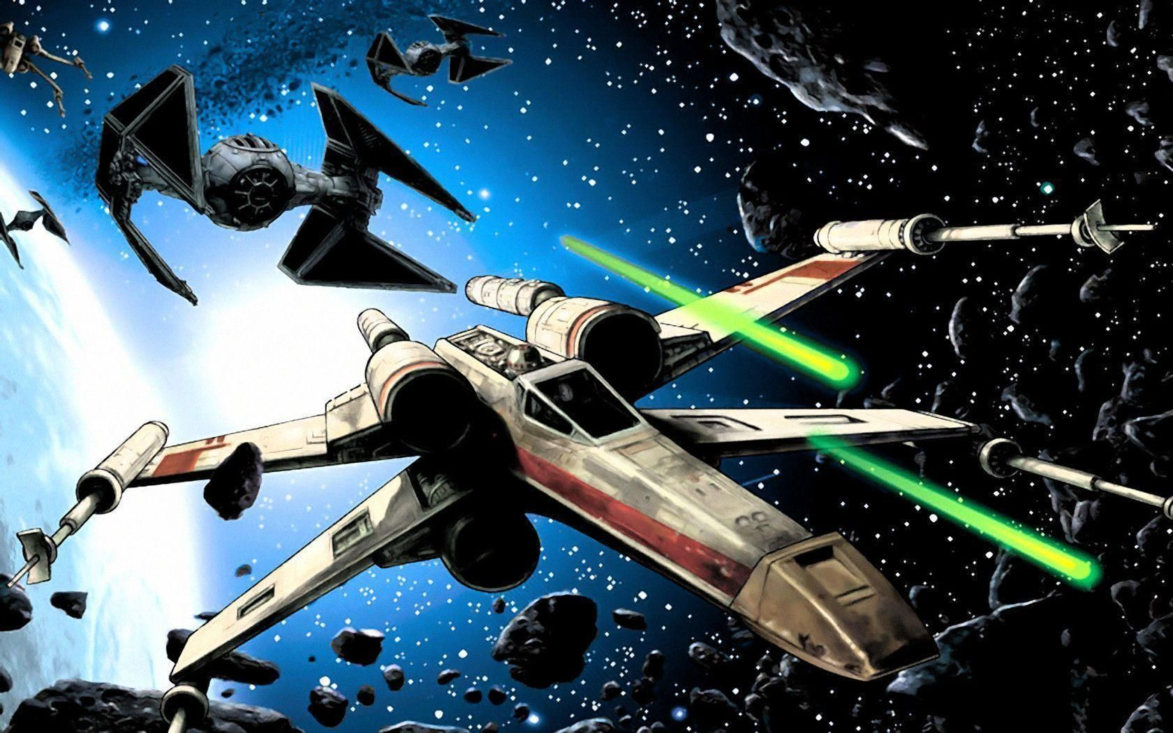 Wing Wars Star Xwing Fighter Tie Wallpapers Vs Background Fighters