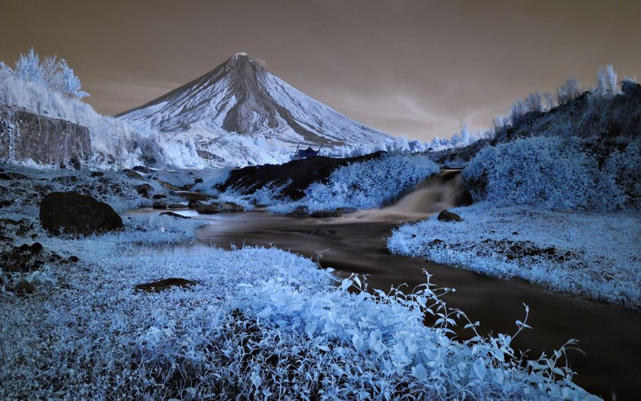 Raw IR Colors by Dacel Andes, via 500px