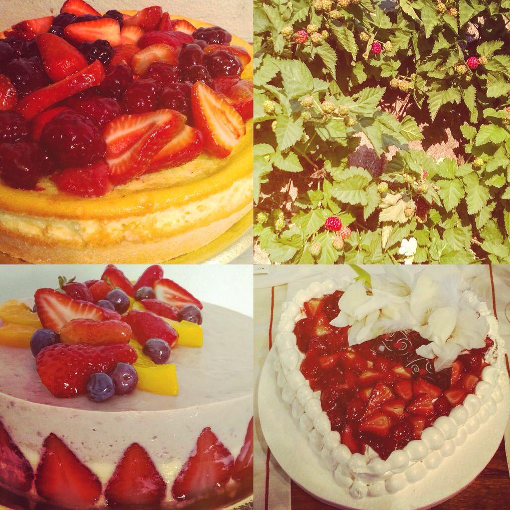 Tartas de frutos rojos de la huerta orgánica de Celery Servicios Gourmet