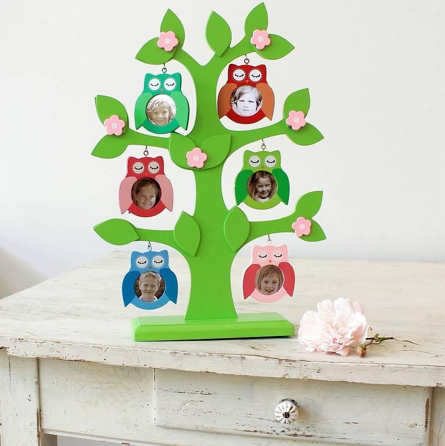 árbol Familiar Infantil Decoración árbol Familiar Arbol