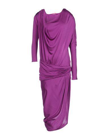 Abiti Da Sposa Yoox.Emanuel Ungaro Women S 3 4 Length Dress Purple 4 Us