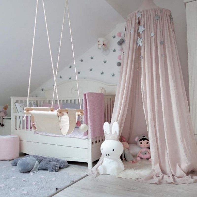 Kids Baby Bedding Dome Bed Canopy Netting Bedcover Mosquito Net & Kids Baby Bedding Dome Bed Canopy Netting Bedcover Mosquito Net ...