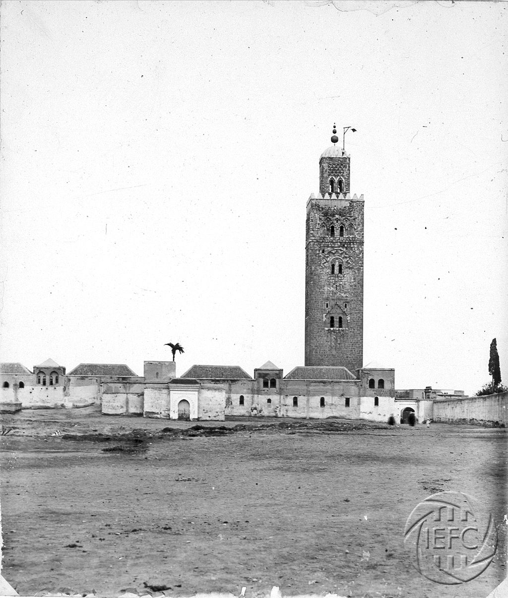 Antonio Cavilla Photographer: Vista parcial de la de la Kutubia, Marrakesh.