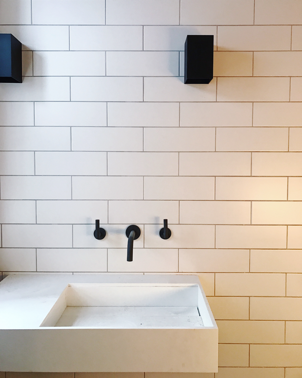 Sara Moody Shacklewellarchitects Instagram Photos And Videos In 2020 White Wall Tiles Bathroom Wall Tile Wall Tiles