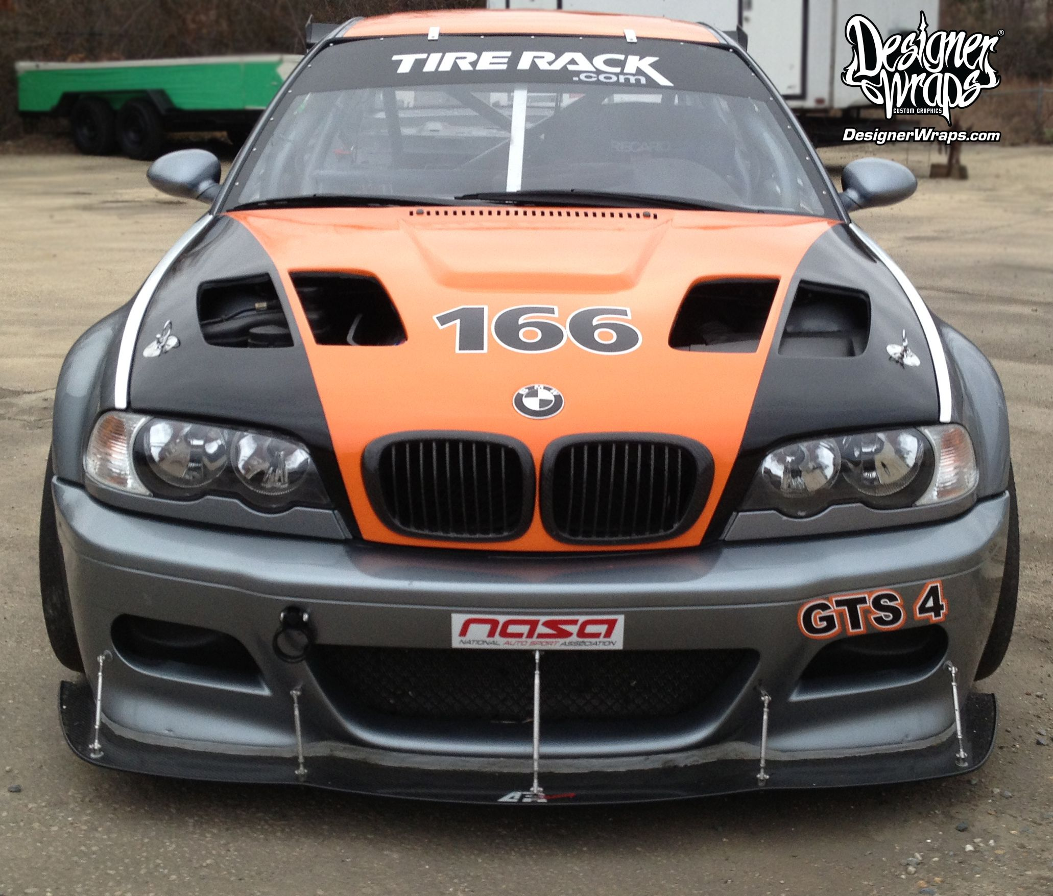 BMW & Trailer Racing Graphics