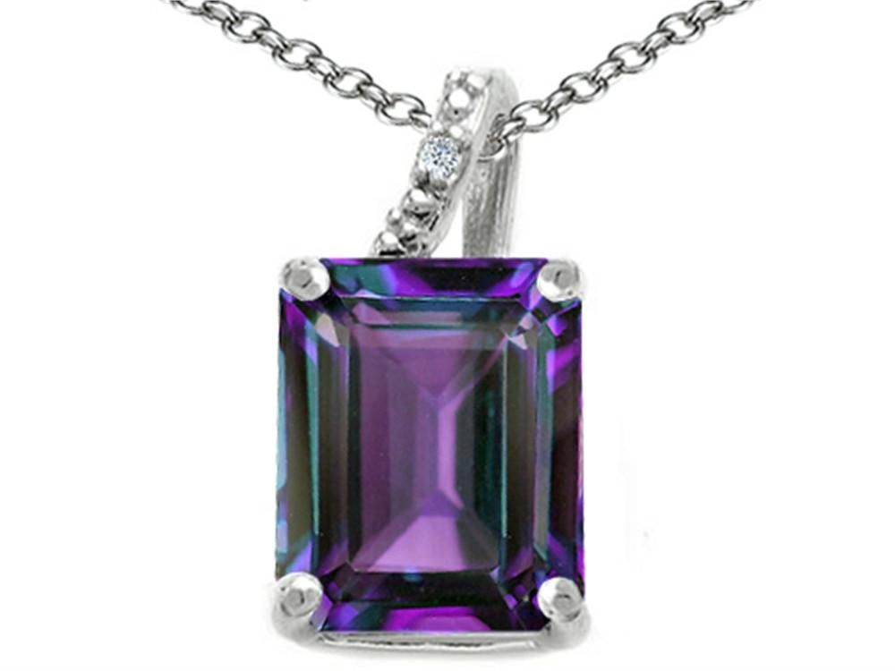 Tommaso design emerald cut 10x8mm simulated alexandrite pendant tommaso design emerald cut 10x8mm simulated alexandrite pendant necklace aloadofball Choice Image