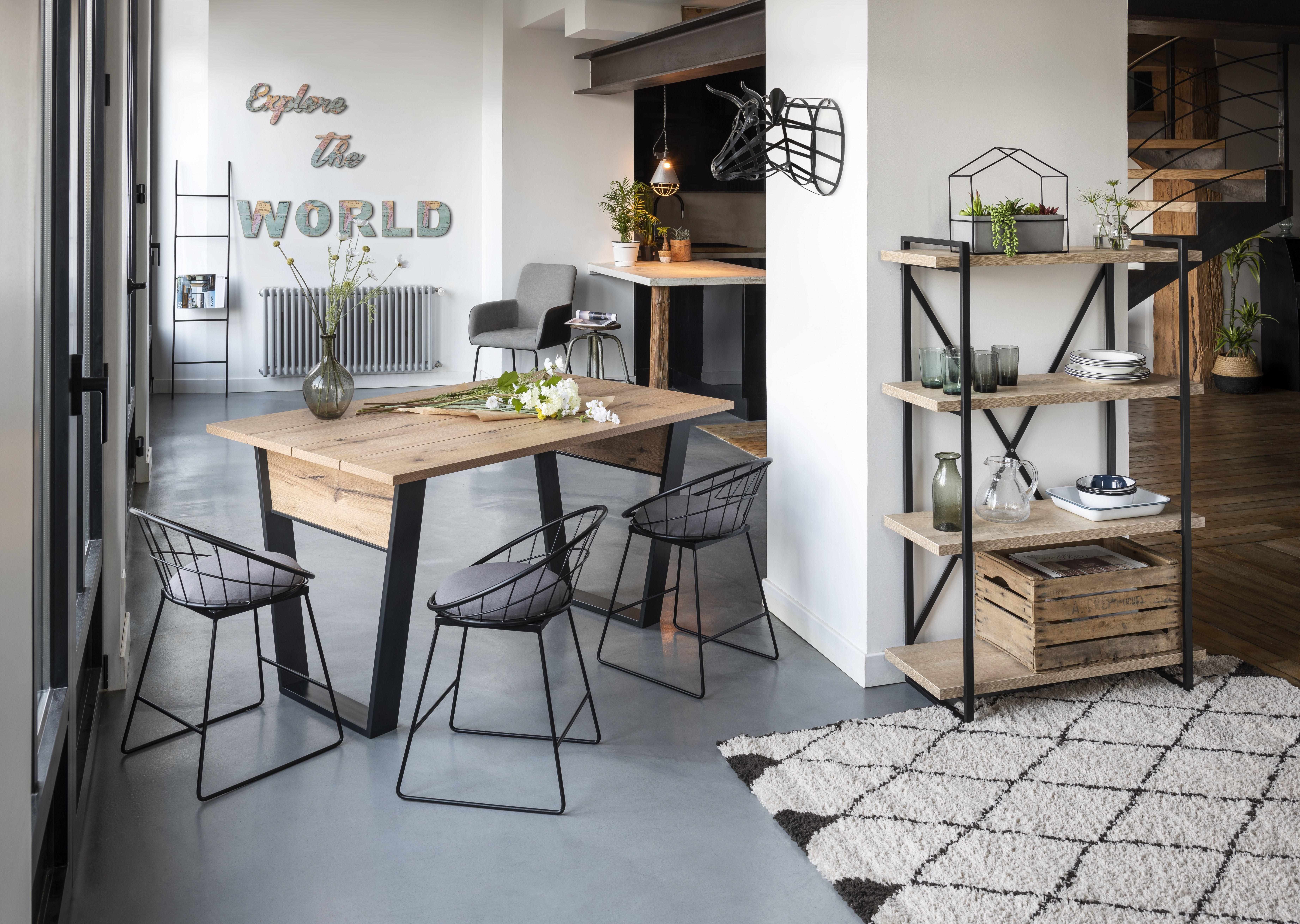 Chaise Amazone noire x16 - Chaise - Salle à manger et cuisine