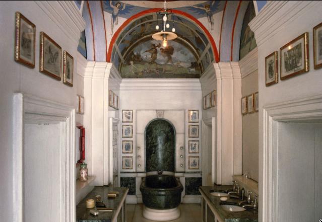 Bathroom Kings the kings toilet that has actual running water } | windsor castle