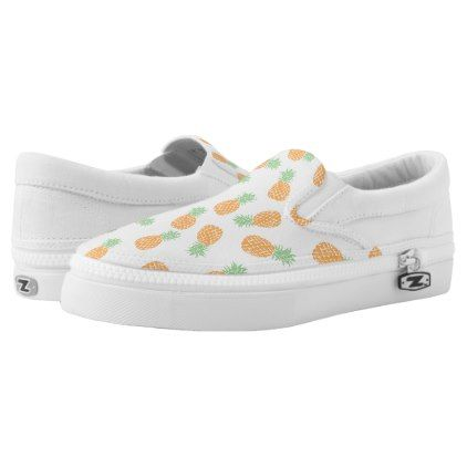 3f1054e097 pineapples pattern Slip-On sneakers - patterns pattern special unique  design gift idea diy