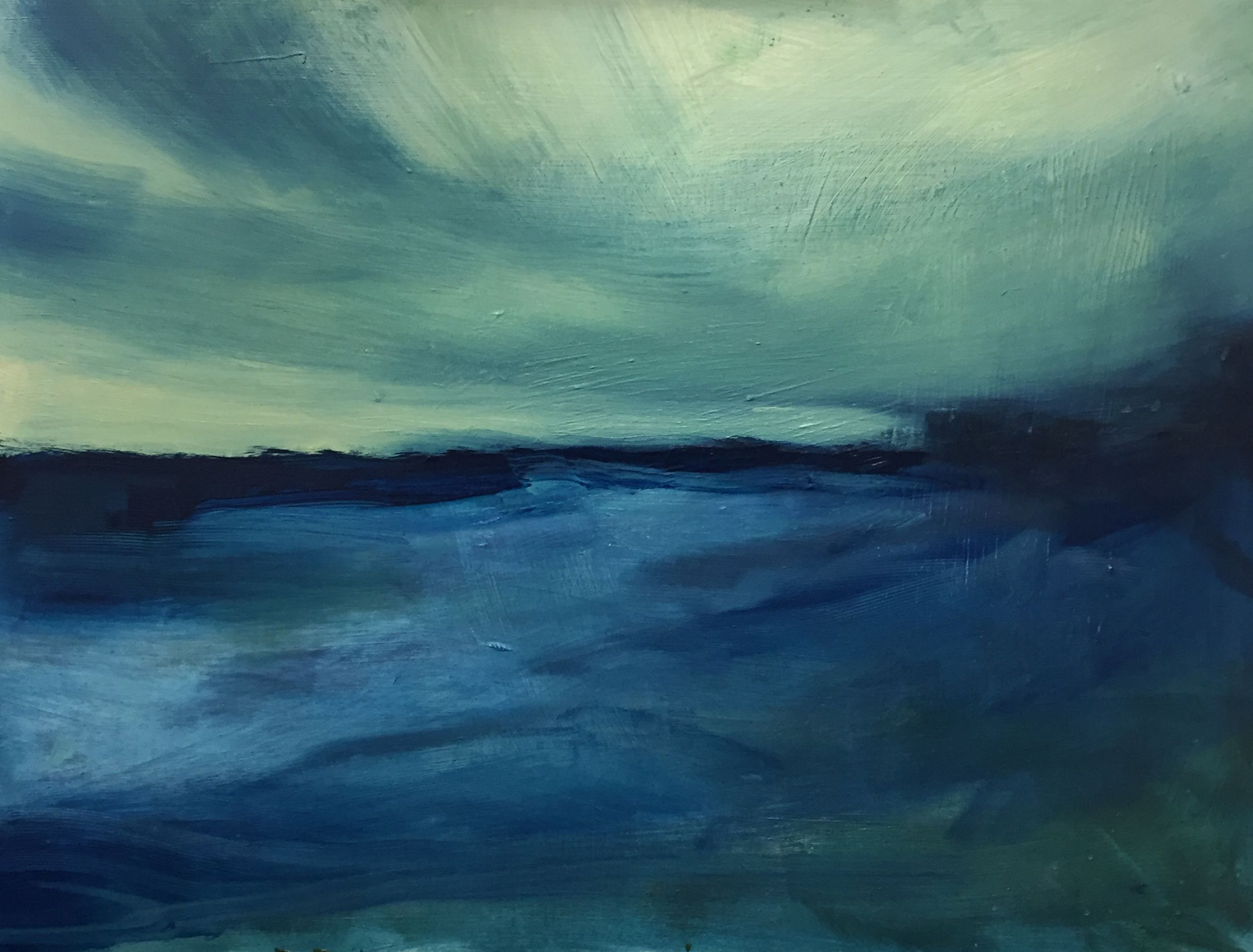 Into the Blue by Lily Rigby