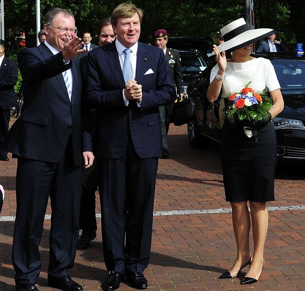 The King Willem-Alexander and Queen Máxima of the Netherlands have begun a two-day working visit to the German states of Lower Saxony and North Rhine-Westphalia.