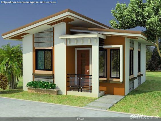 diseños de casas pequeñas - Buscar con Google Fachadas modernas