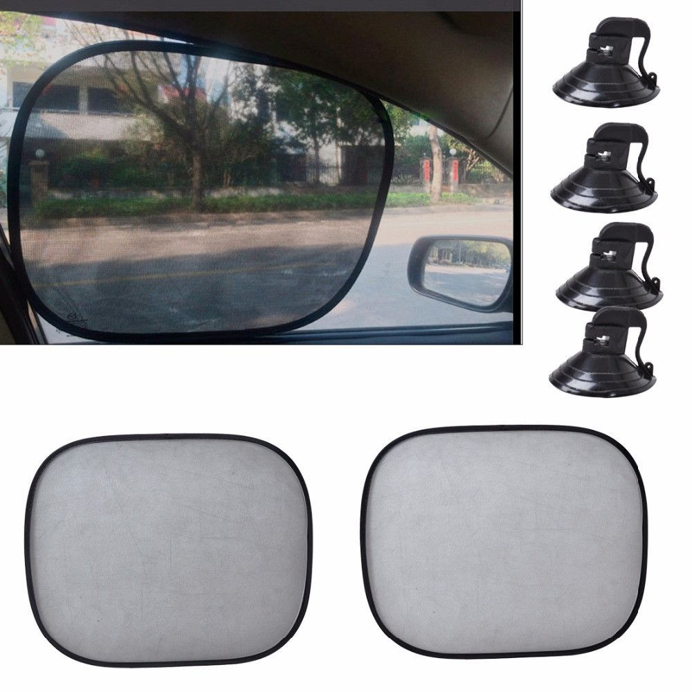 New Black Foldable Car Side Window Sun Shade Screen Visor Shield Cover  Solar Protection Window Foils 22da62bf8f2