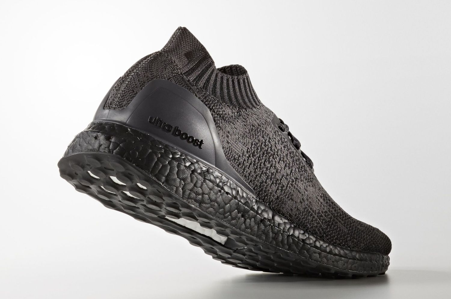 fcb248c0976a5 Triple Black Adidas Ultra Boost Uncaged