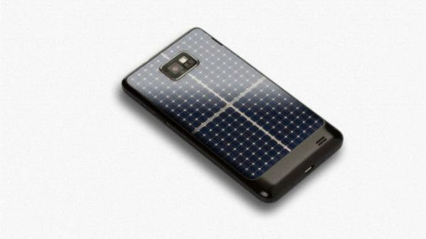 Lo smartphone fotovoltaico via Wired.it