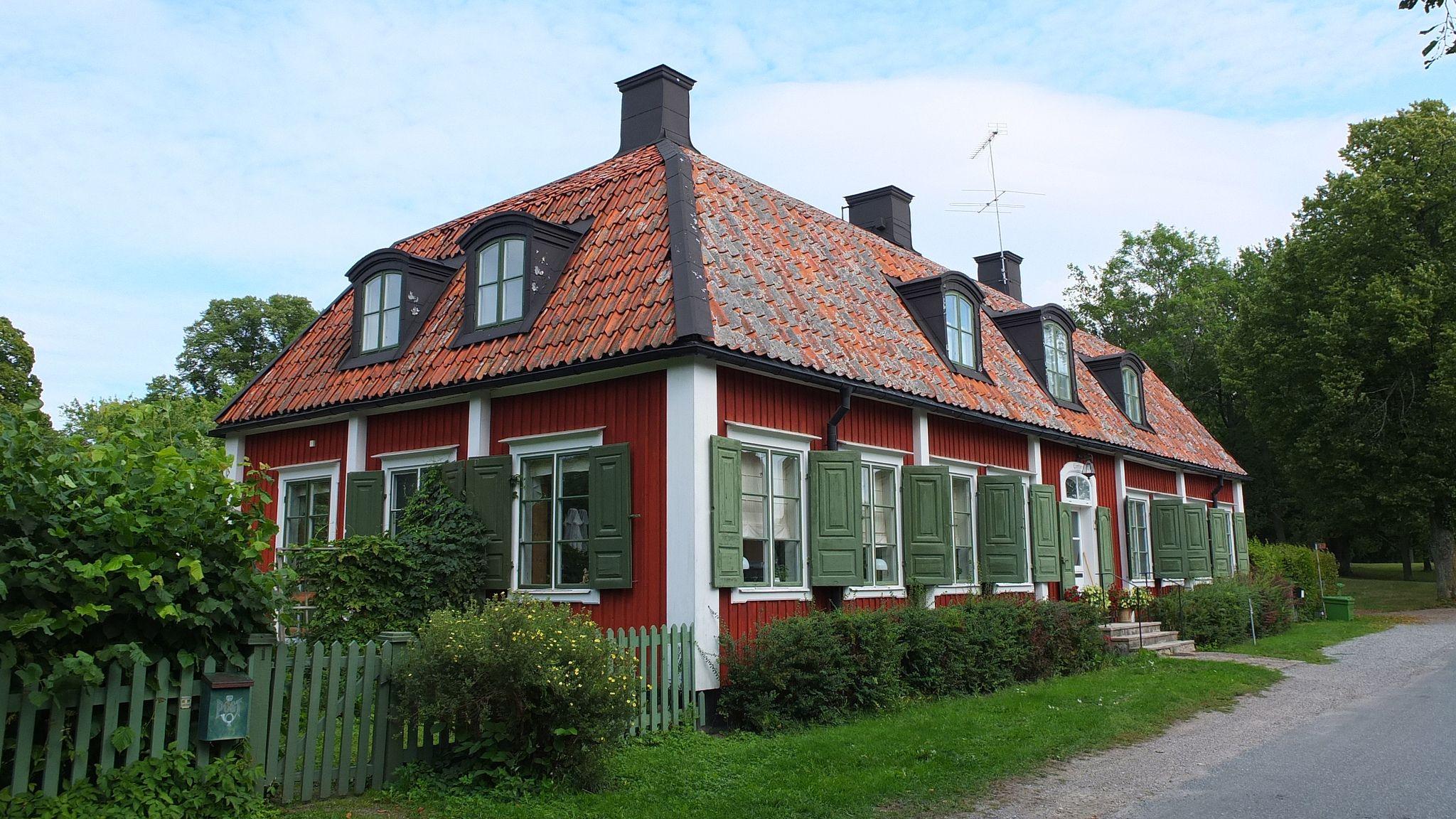 Canton Village, Chinese Pavilion, Kina Slott, Drottingholm Palace, Drottningholms slott, Sweden
