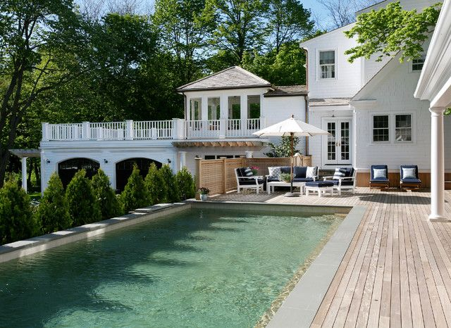 Upscale above ground pools luxury traditional above - Luxury above ground pools ...