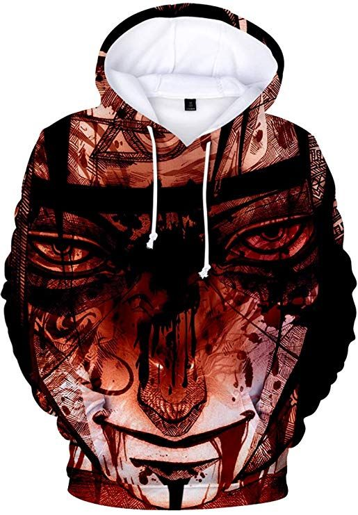 Bettydom Boys Fashion Hoodies Long Sleeve Autumn Outerwear Sweatshirt with  The Japanese Anime Naruto talkingbread.co.il