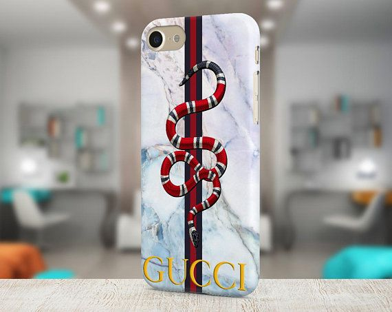 6753ed3d2d9de Inspired by Gucci Snake Marble Case Iphone X case Samsung Galaxy ...