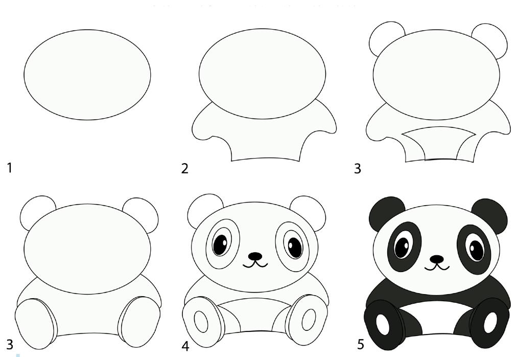 Картинки для детей рисовать с 9 лет