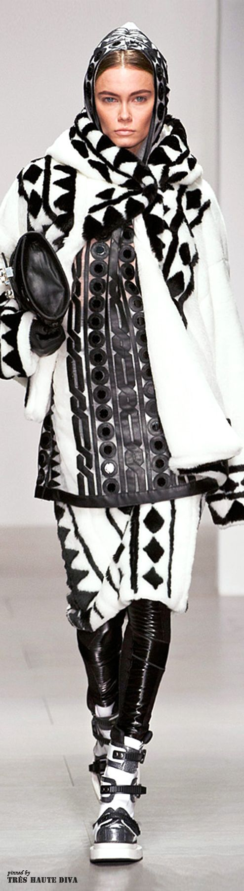 #London Fashion Week KTZ Fall/Winter 2014 RTW