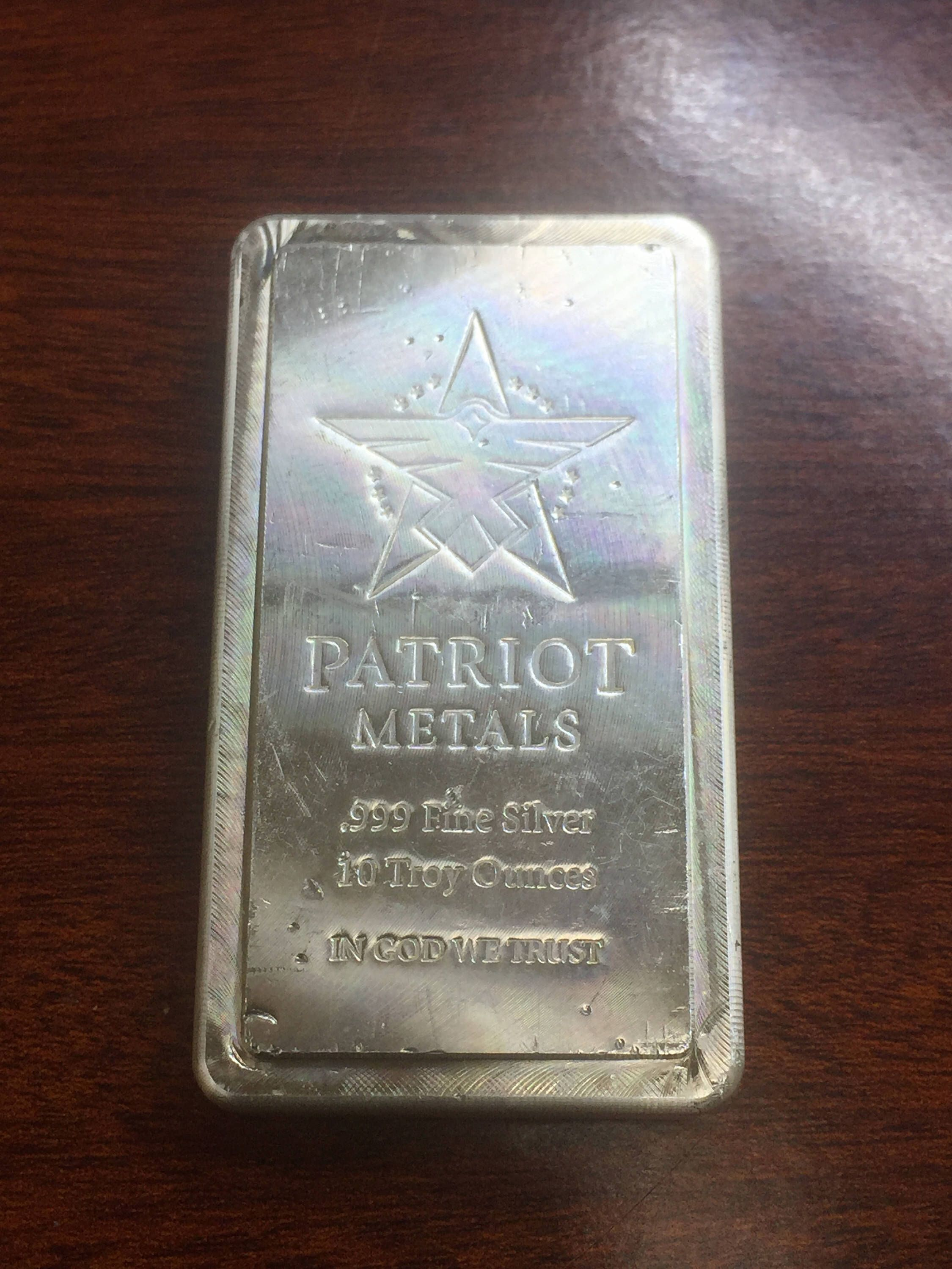 10 Oz Scottsdale Stacker Silver Bar 999 Bullion Scootsdale The One 1oz And