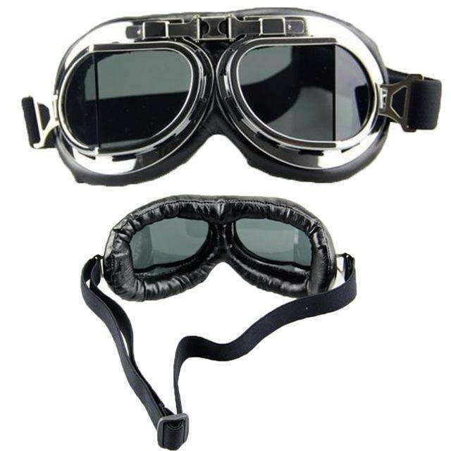 8b29b6ddb46 Hot Sale Men Women Steampunk Goggles Flying Scooter Vintage Helmet Unisex  Gothic Vintage Glasses Fast Shipping