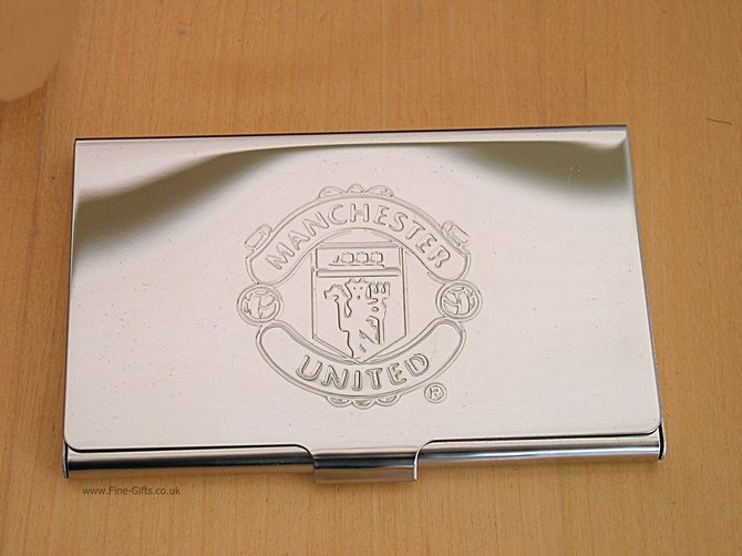 Business card holder manchester united fc metal business card business card holder manchester united fc metal business card holder for men finegifts colourmoves Images