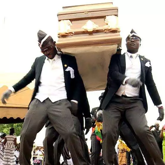 Who Are The Coffin Dancing Pallbearers Inspiring Thousands Of Memes And Jokes Online Find Out 2 Funny Vine Compilation Funny Vines Youtube Dance Remix