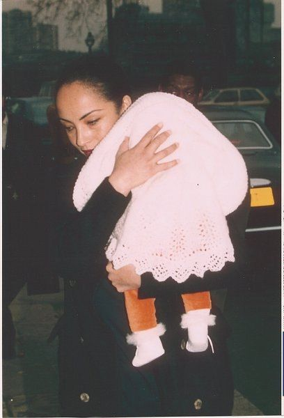 Sade and daughter 1997