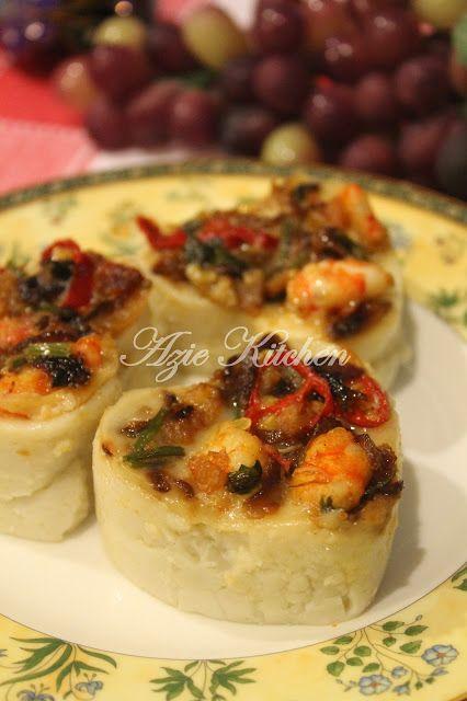 Azie Kitchen Kuih Talam Berlauk