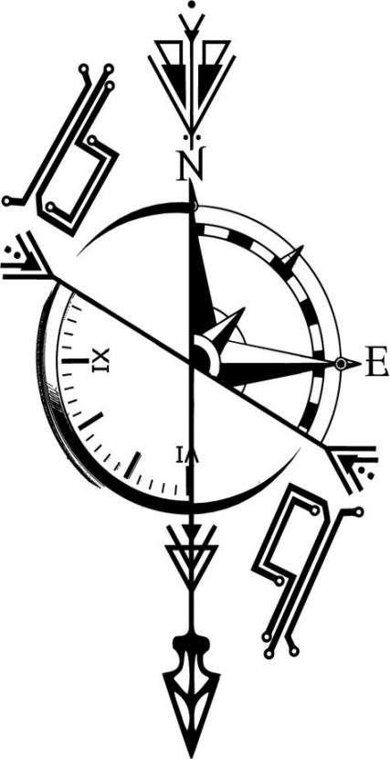 Tattoo Compass Girl Love 41+ Best Ideas #tattoo